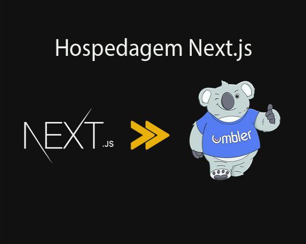 Como hospedar Next.js na Umbler