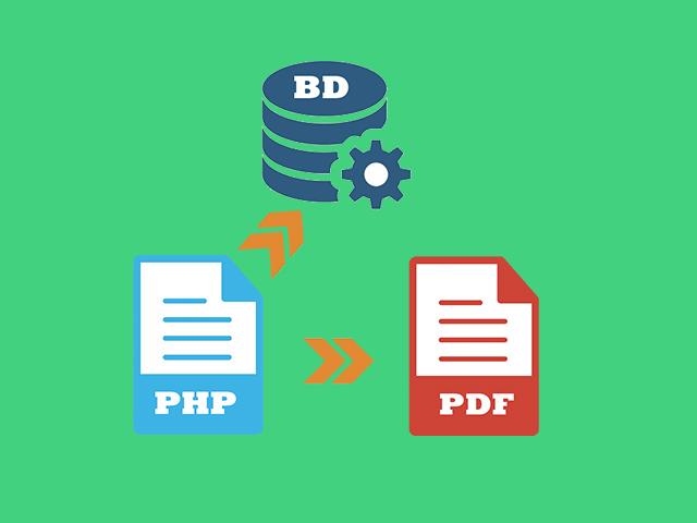 Como gerar PDF com informações selecionada no banco de dados MySQLi