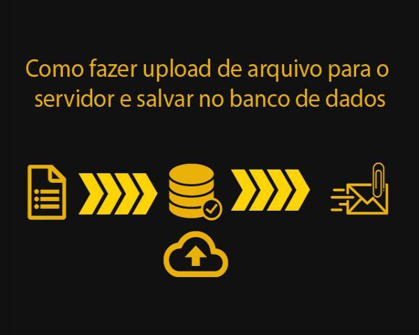 Como fazer upload de arquivo para o servidor e salvar no banco de dados