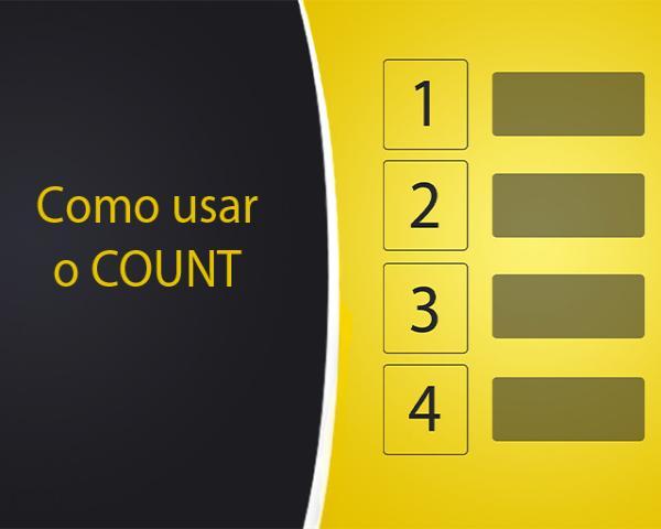 Como contar quantos registros tem na tabela do banco de dados com COUNT no MySQL e PHP