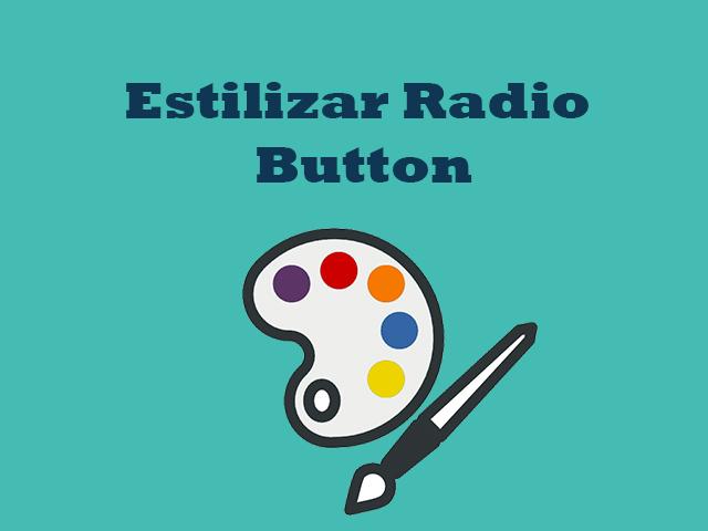 Como montar o visual do radio buttons dinâmico